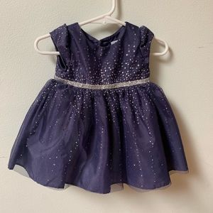 Infants dress sparkly